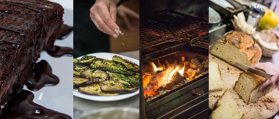la taberna braceria - ristorante Castelfidardo specializzato in carne e salsicce alla brace e pizzeria con forno a legna